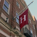 harvard university flag sq
