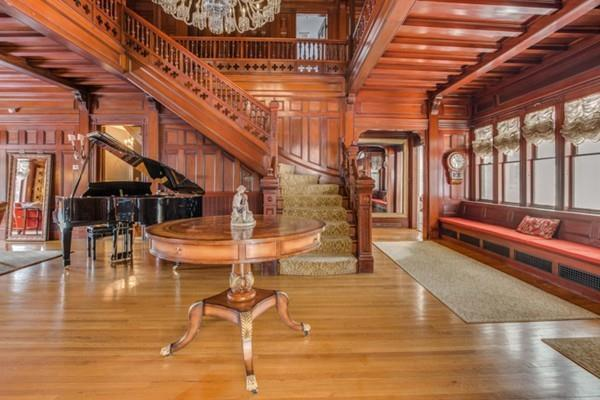 huge milton mansion