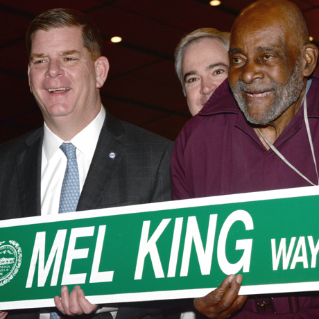 marty walsh mel king sq