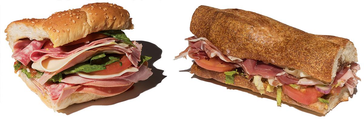 north end italian sub sandwiches