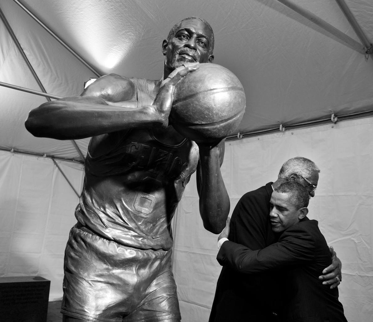 obama boston moments bill russell