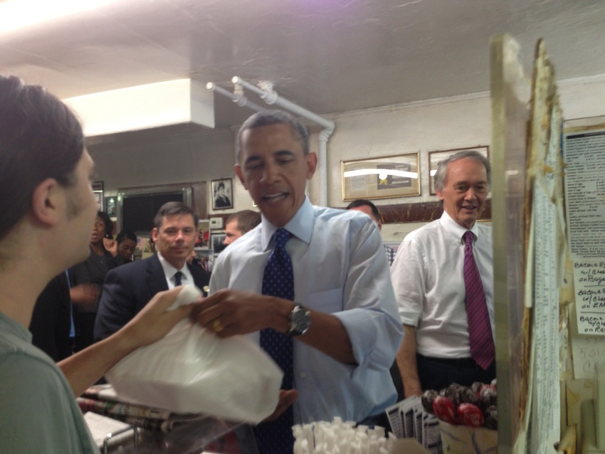 obama boston moments charlie's sandwich shoppe
