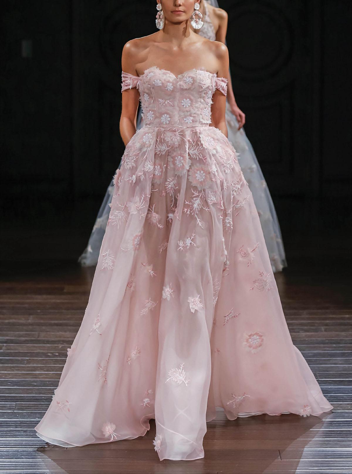 rosy wedding fashion accessories