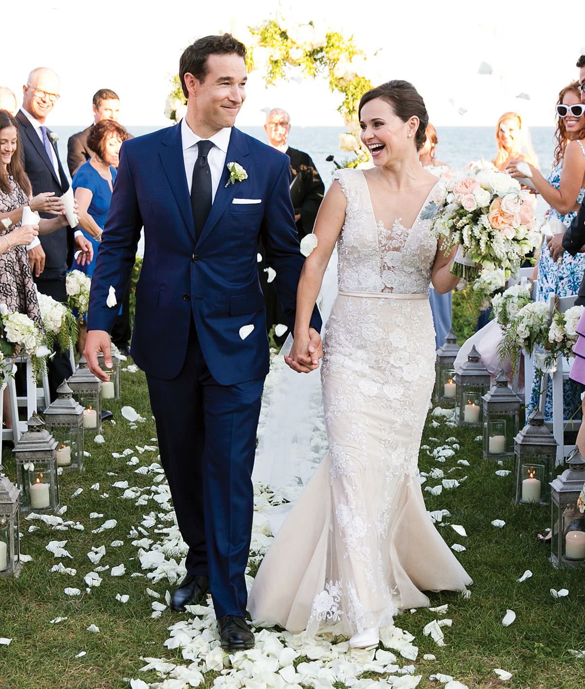 sasha cohen tom may wedding photo