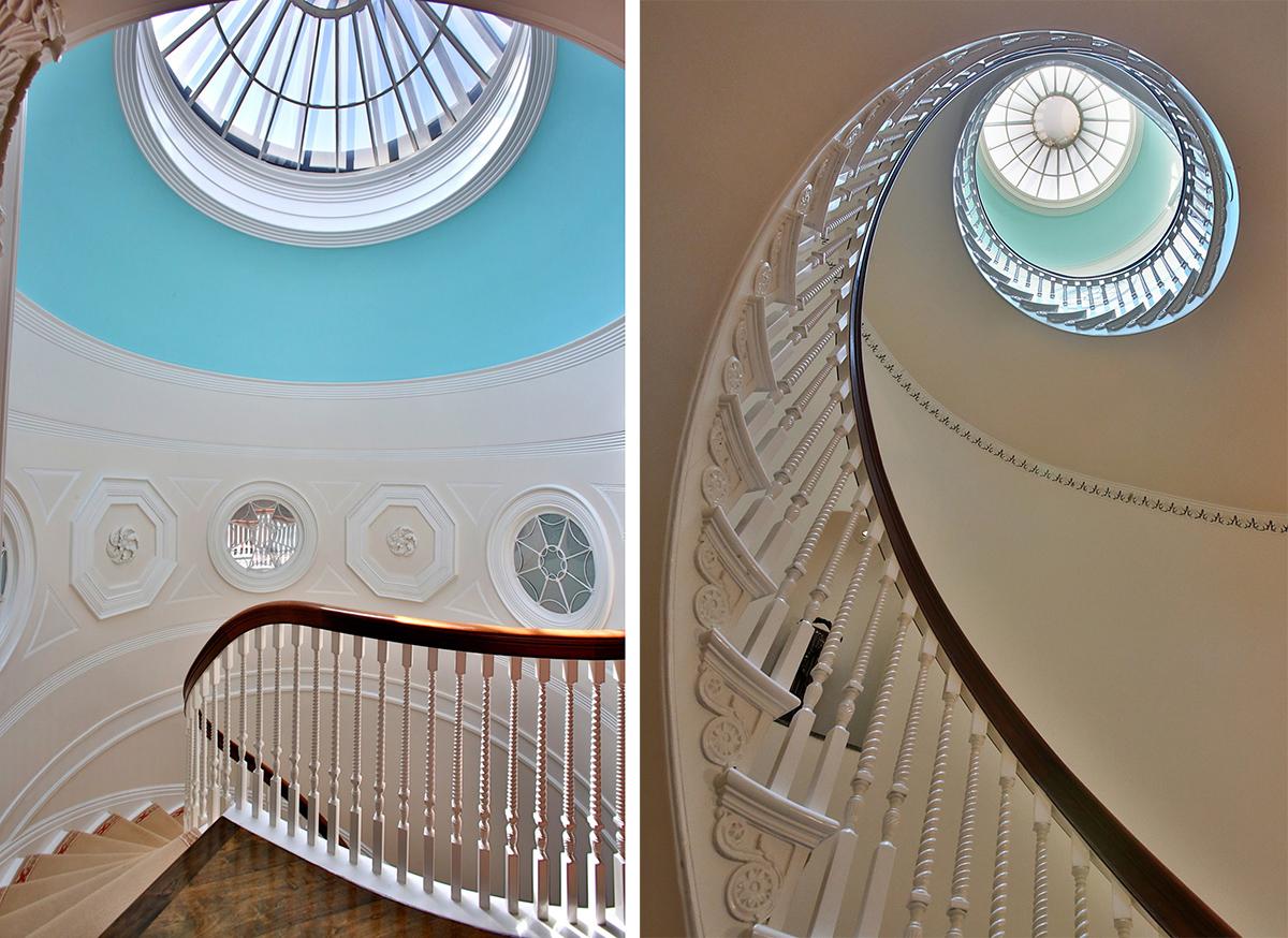 spiral staircase beacon hill