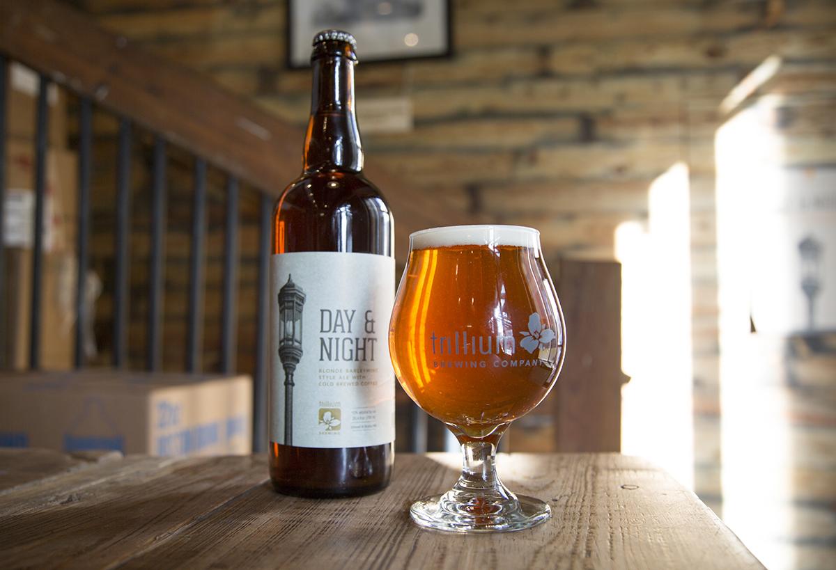 Day & Night, a barleywine by Trillium Brewing Company. / Photo provided