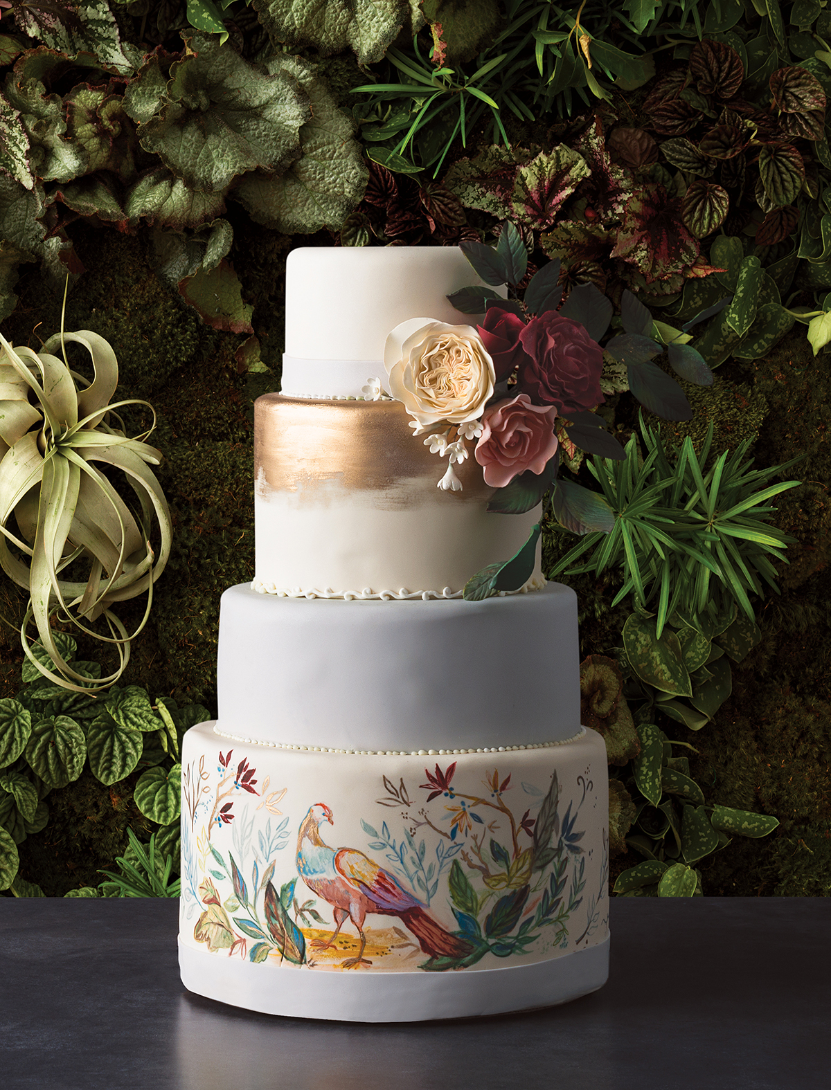 Wedding Cakes Flowers Pairings