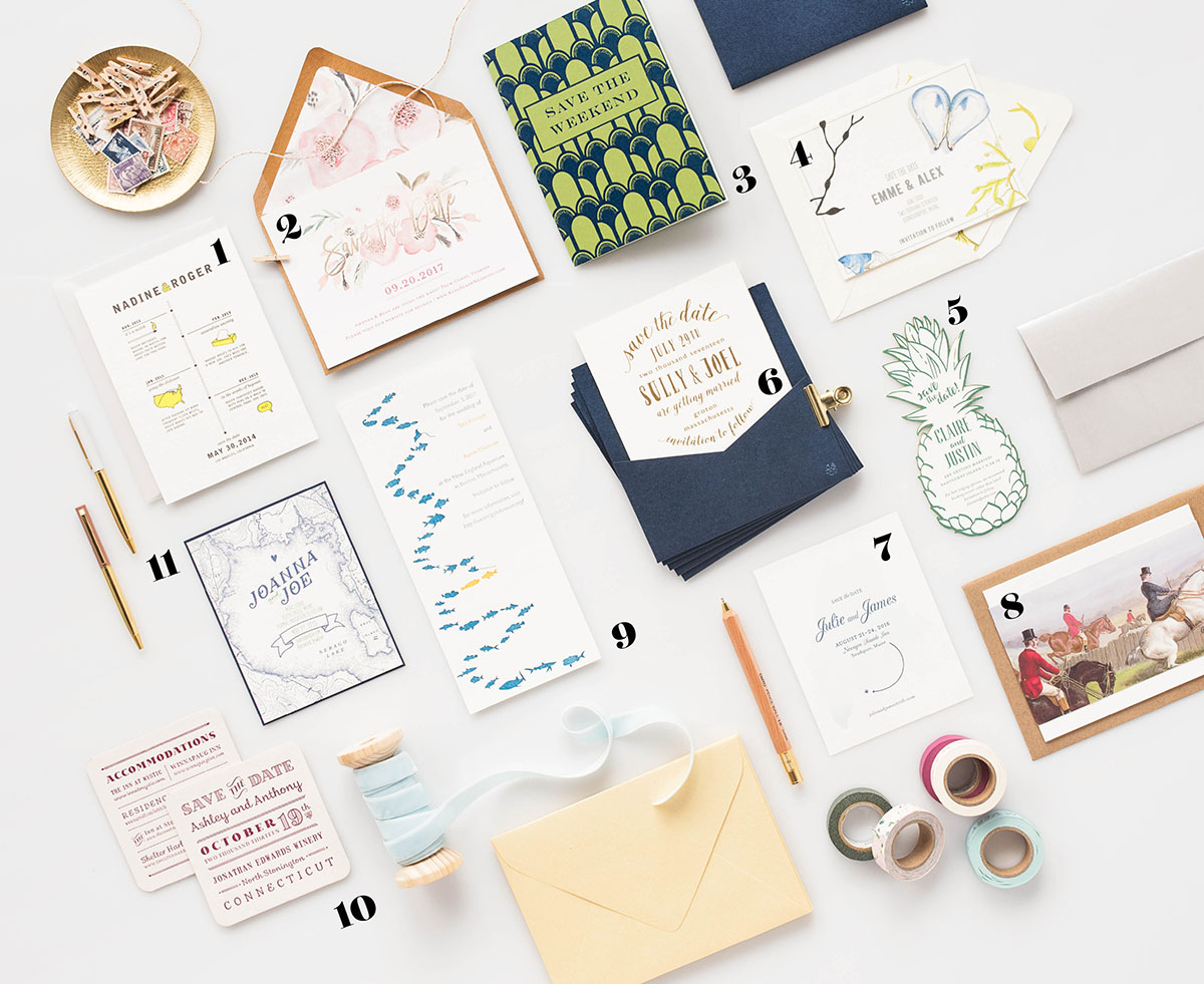 Push the Envelope with Creative Wedding Invitation Stationery ...