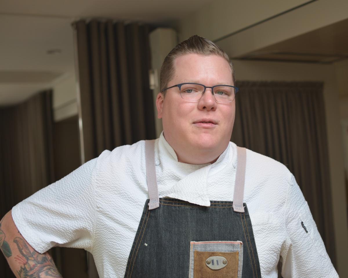 Back Bay Beats chef Nicholas Swogger. / Photo provided
