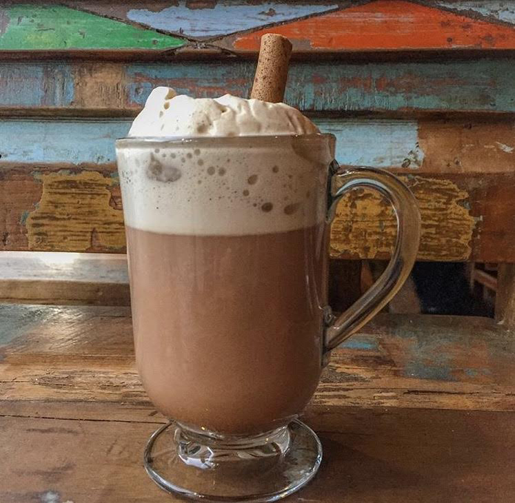 Snow Day hot chocolate at Burro Bar in Brookline