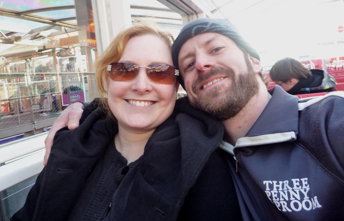 Rachel Coit and Matt Mahoney of Kummerspeck