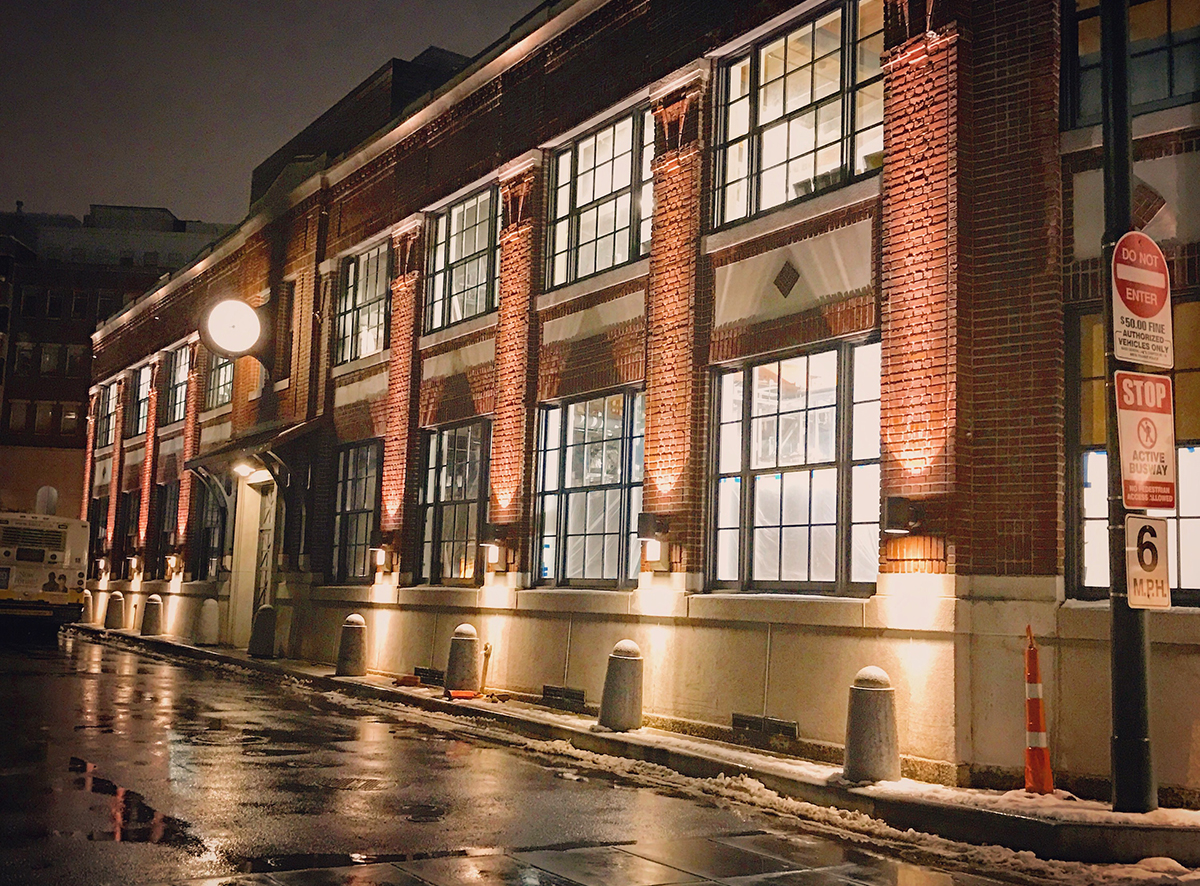 The Conductor's Building in Harvard Square will soon be home to Les Sablons, the latest from Garrett Harker and the Island Creek Oyster Bar team.