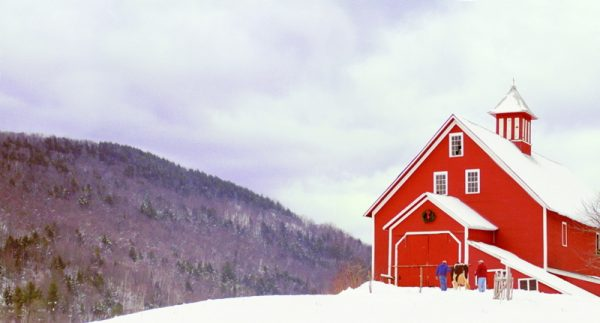 LibertyHillFarm winter barn horizon