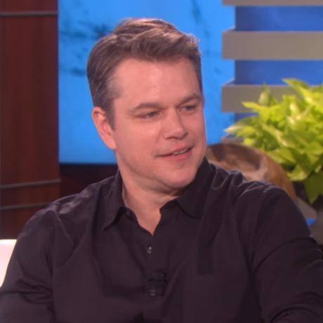 Matt Damon on Ellen_sq
