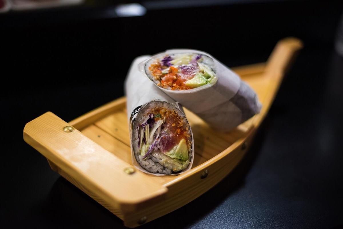 New Sushi, Inc., burrito photo via Facebook