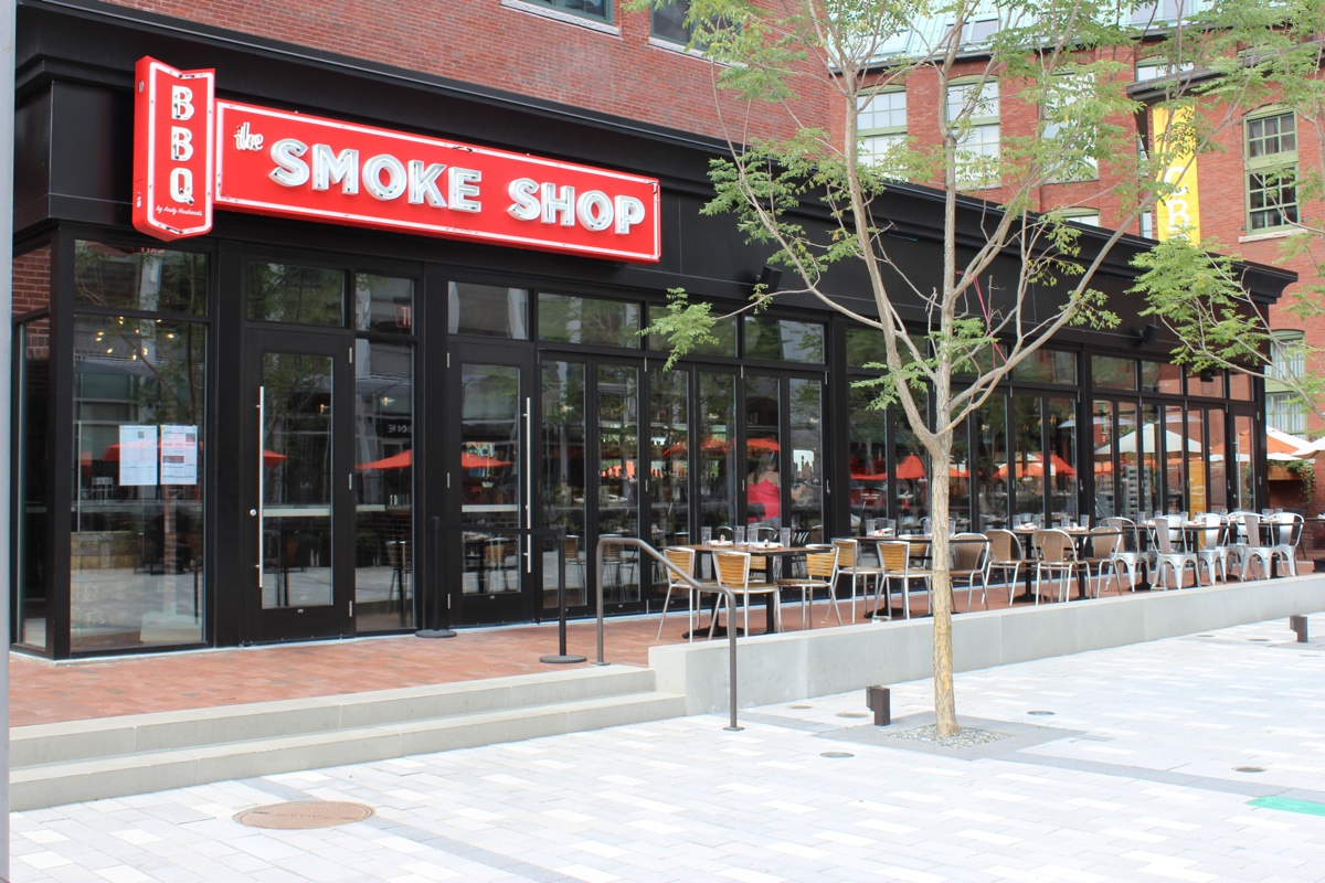 The Smoke Shop patio photo provided
