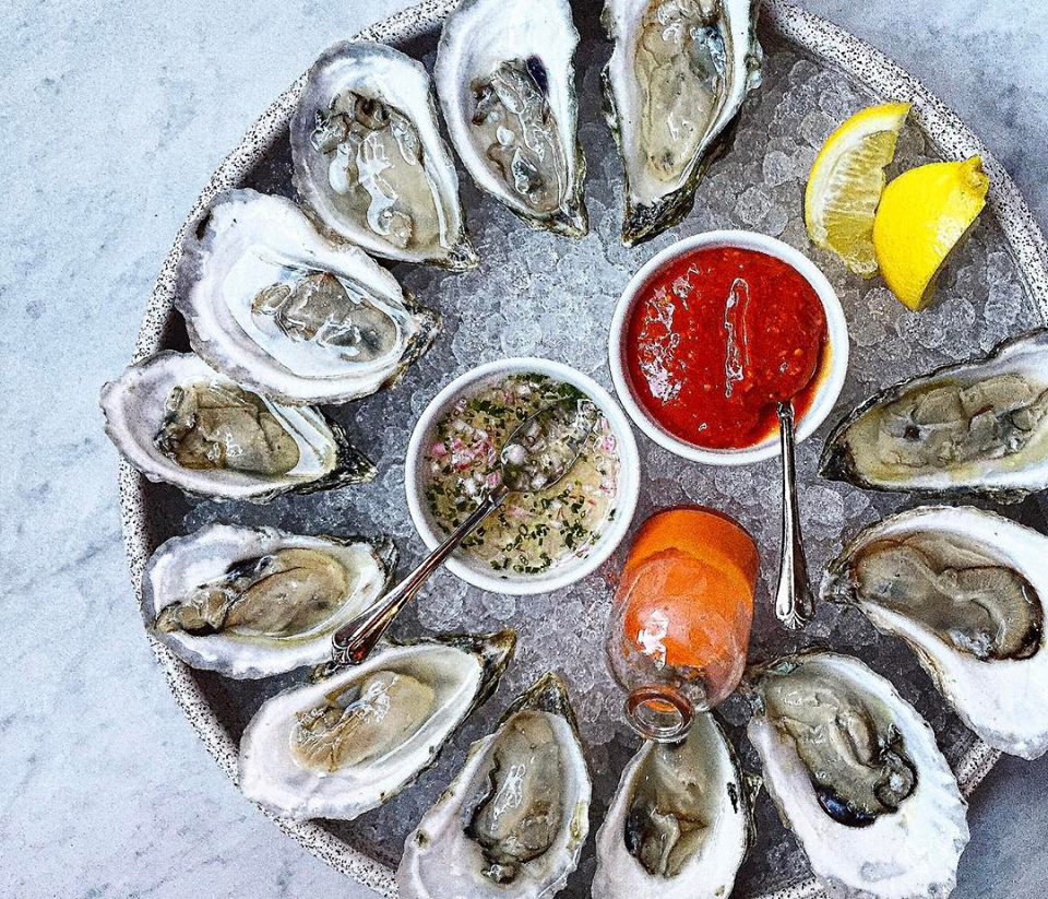 Oysters at Waypoint at $1 in honor of tonight's snow storm