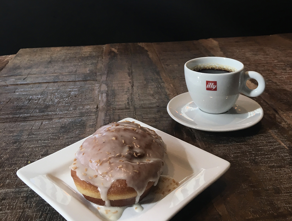 Coffee and pastries at Catalyst Cafe. / Photo provided