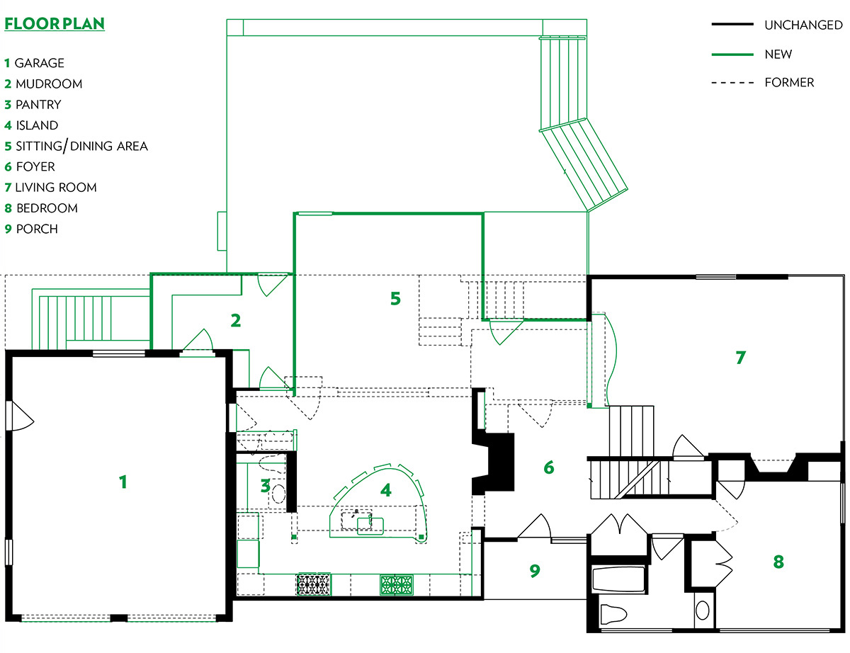 home additions fix master floor plan