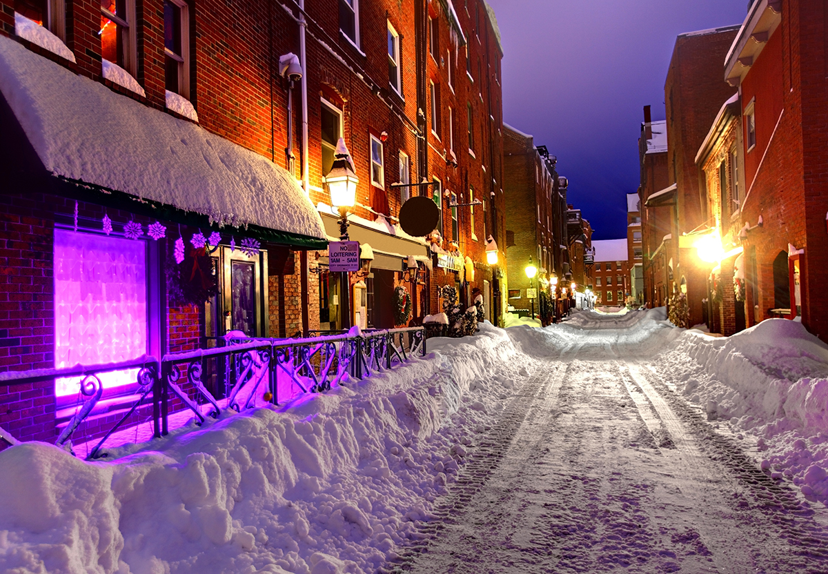 Portland, Maine / Photo via iStock