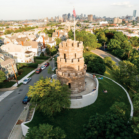 prospect hill tower somerville sq