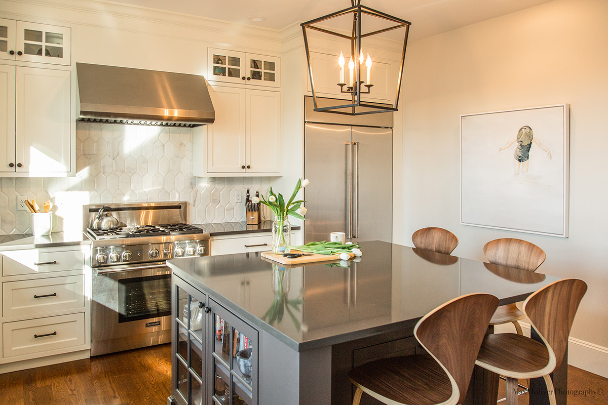 Update Kitchen A Somerville Kitchen Gets A Bright And Modern Update