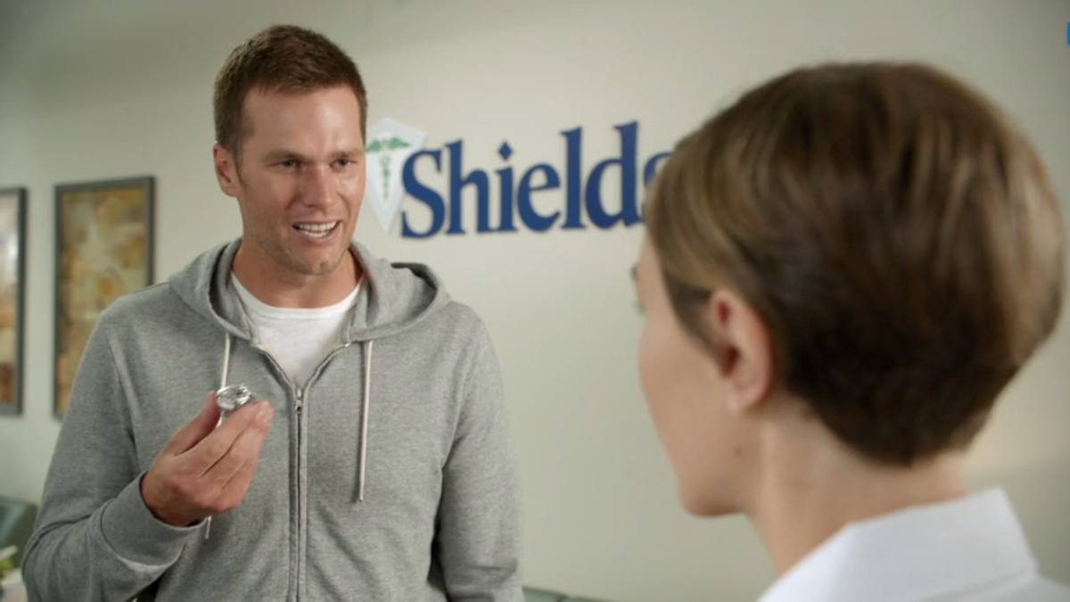 Roger That Tom Brady And His New Ring Star In Shields Mri Ad