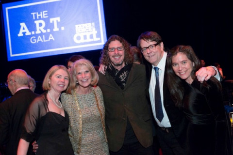 Diane Quinn, RoAnn  Costin, Ernie Boch Jr., Mike Dreese, Diane  Paulus / Photo by Gretjen Helene Photography