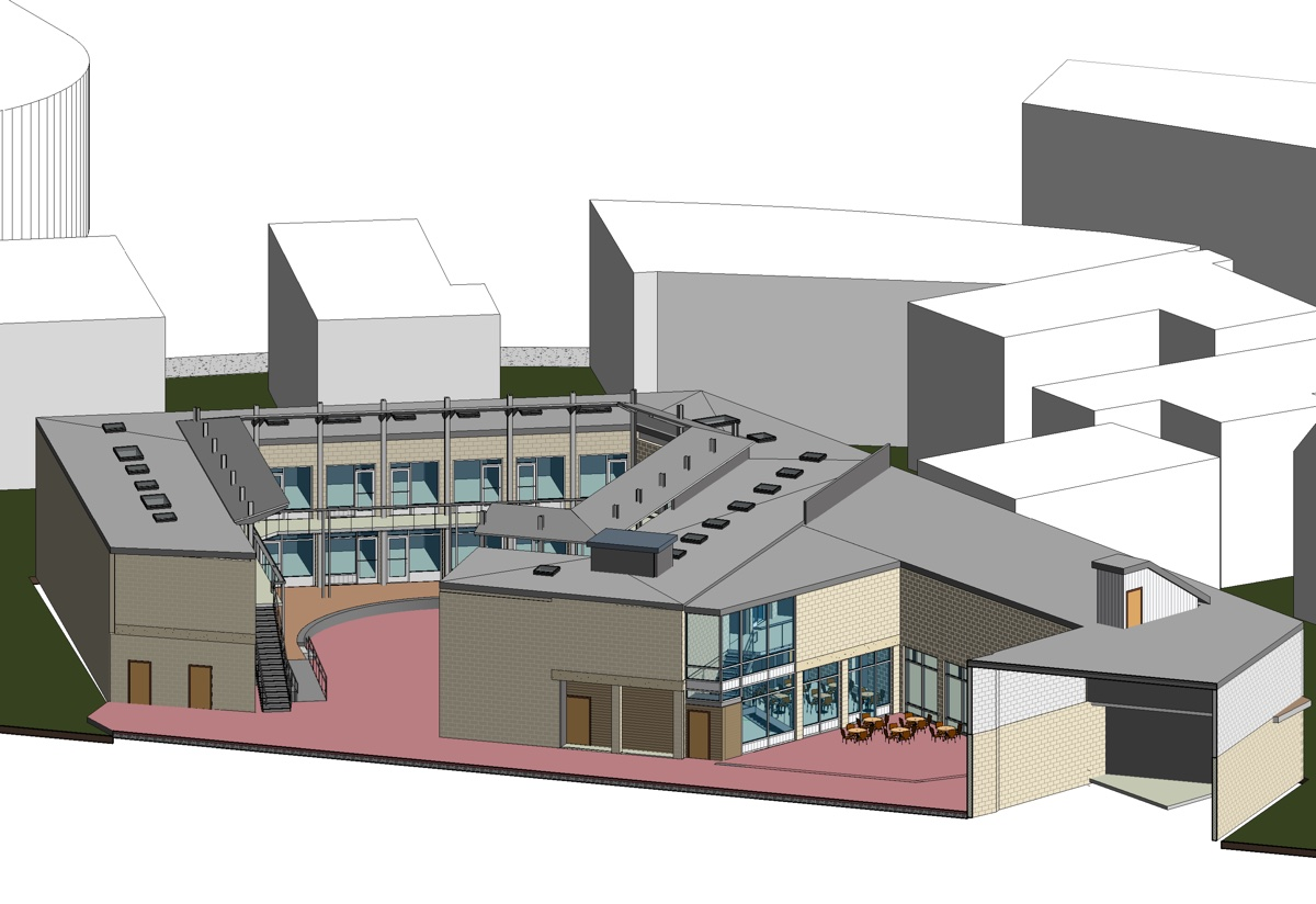 Bow Market rendering provided