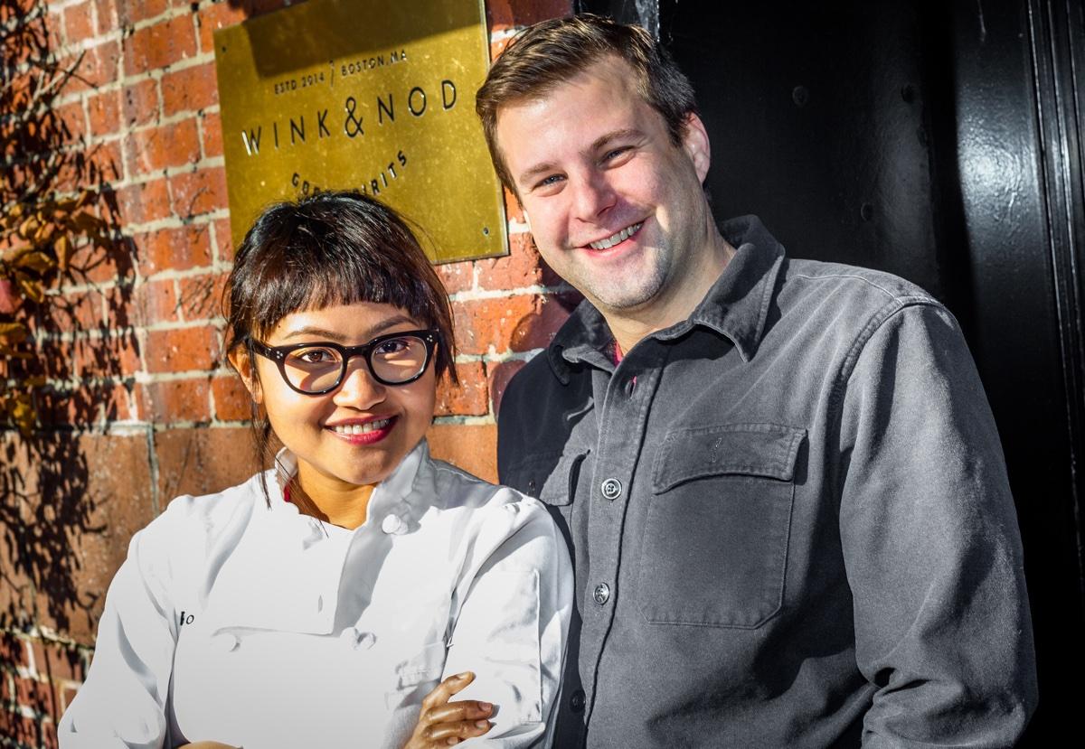 Retno Pratiwi and Peter Gelling of Kaki Lima