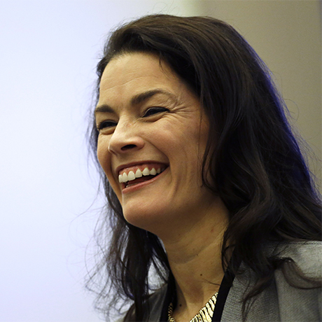 Former Olympic figure skater Nancy Kerrigan speaks after a screening of a new documentary about the 1994 attack on her which will air the day of the 2014 Winter Olympics closing ceremony, Friday, Feb. 21, 2014, in Sochi, Russia. Kerrigan has been reluctant to talk about rival Tonya Harding's ex-husband hiring a hit squad to take her out before the 1994 Olympics in Lillehammer. She finally relented for a show that marks the 20-year anniversary of the incident, which thrust figure skating into the spotlight and spawned an international media frenzy. (AP Photo/David Goldman)
