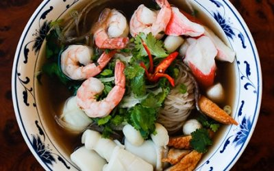 """Pho Hai San at Pho So 1 / Photo by Alex Lau for """"What the Pho?"""""""