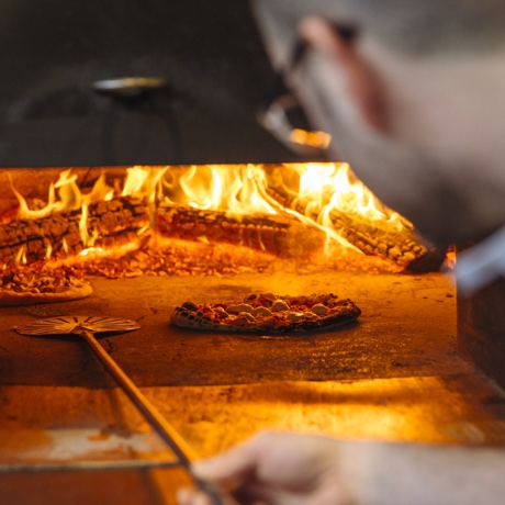 The oven at Steel & Rye inspired the team's latest, Prairie Fire.