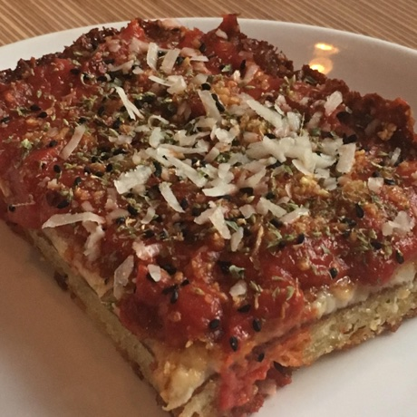Tapestry Detroit pizza square