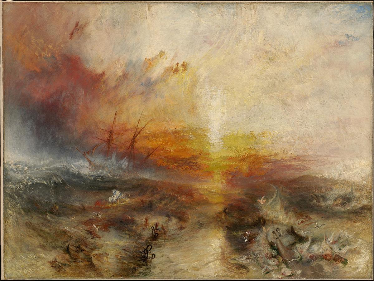"""""""Slave Ship,"""" J.M.W. Turner"""