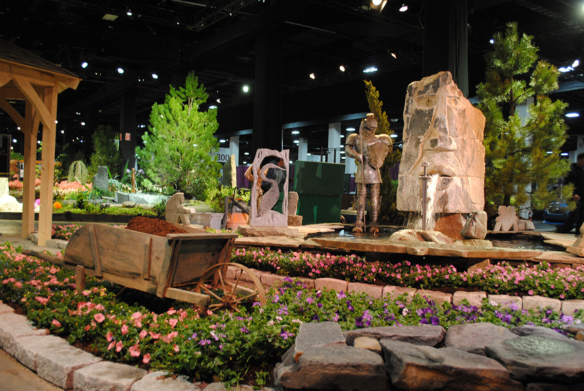 Here s your first look at the 2017 boston flower garden for Craft fair boston 2017