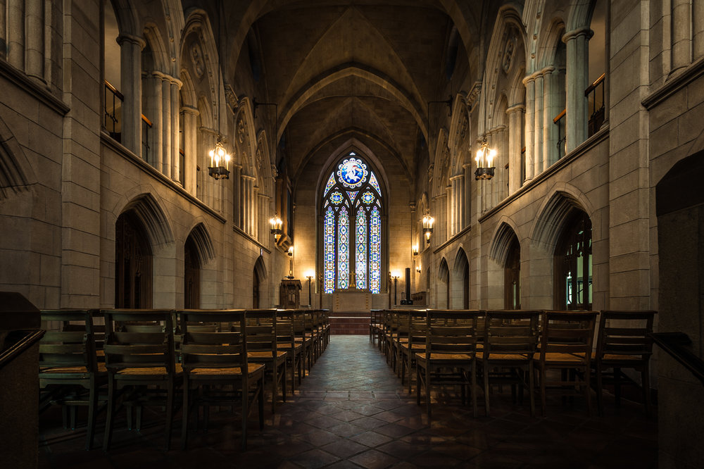 Mount Auburn Cemetery Bigelow Chapel / Photo by Randall Armor
