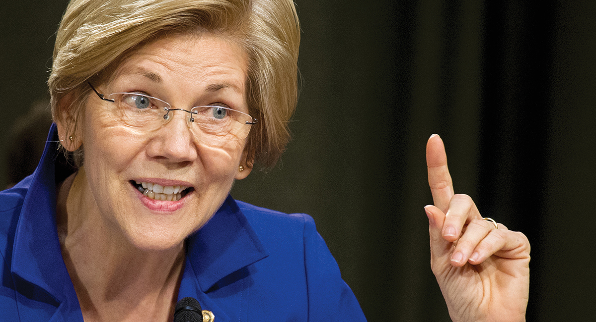 Marxist Elizabeth Warren Squirms When Confronted About Being a One-Percenter