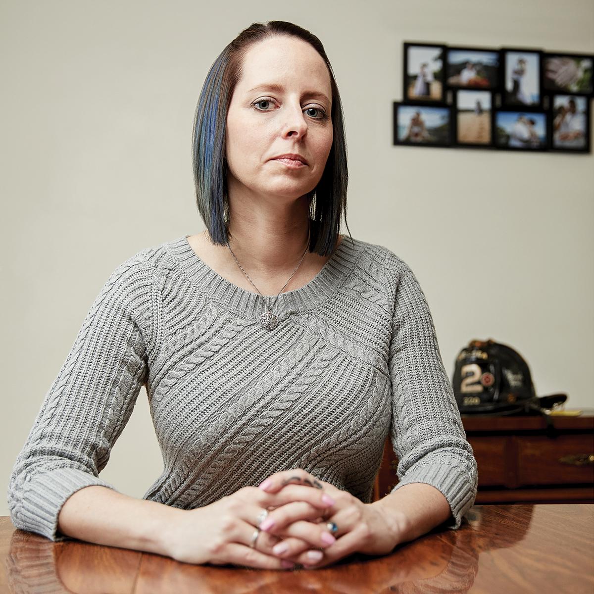 firefighters cancer boston Michelle Kannler