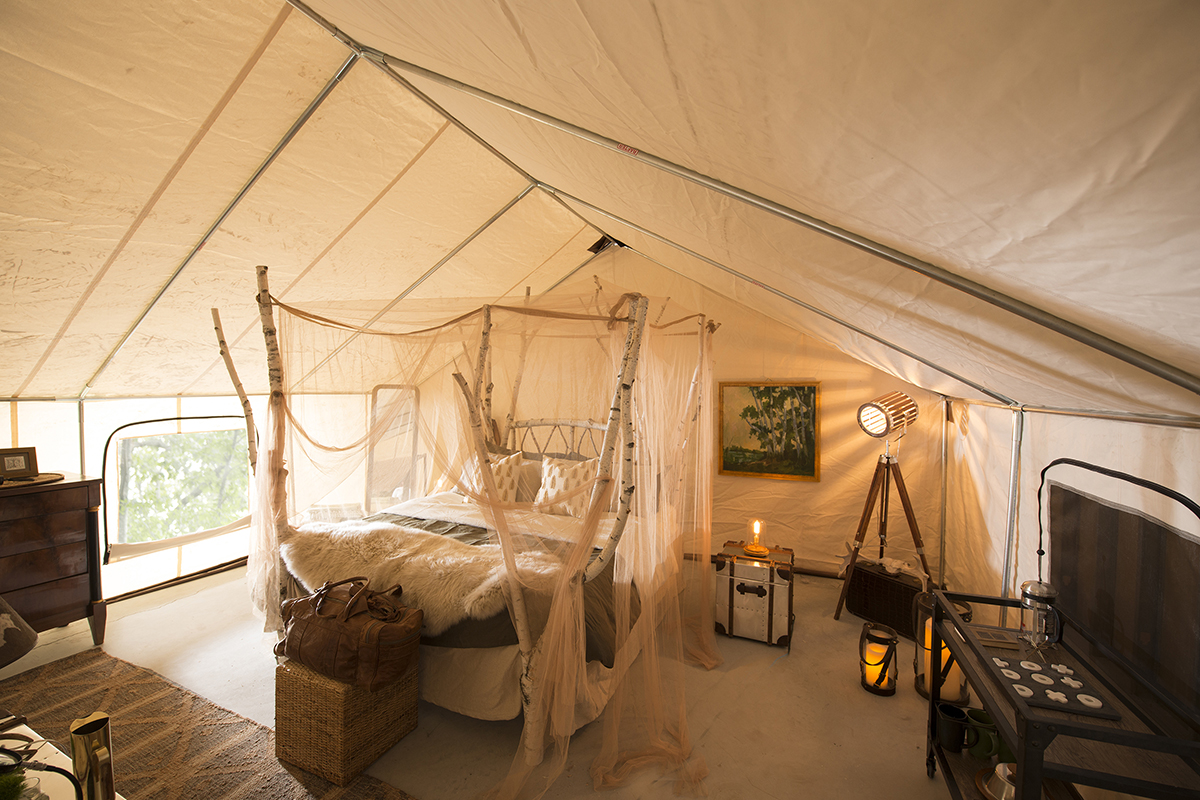 Here S A Sneak Peek Of Maine S New Glamping Experience