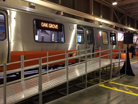 Charlie Baker Likes The Mockup Of The New Mbta Trains