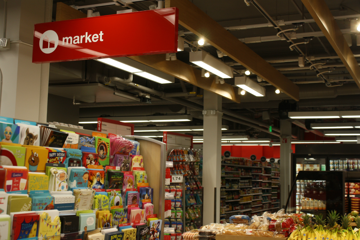 Central Square Target