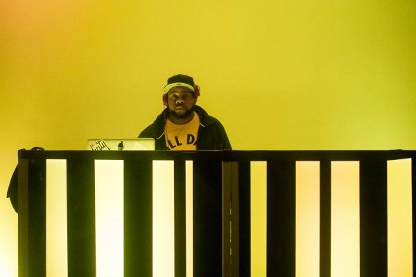 DJ E Dubble / Photo by Jourdan Christopher, Transformative Culture Project