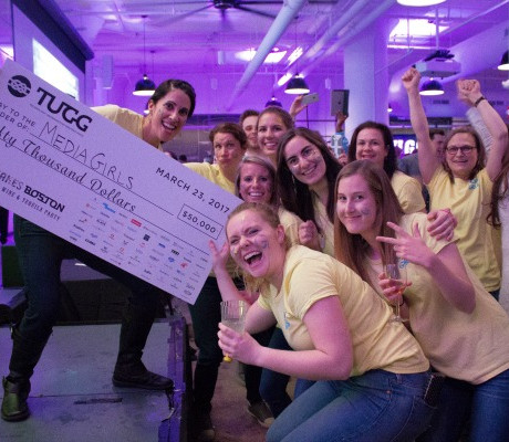 New TUGG Portfolio $50k grant winner Media Girls / Photo by Christine Belsky
