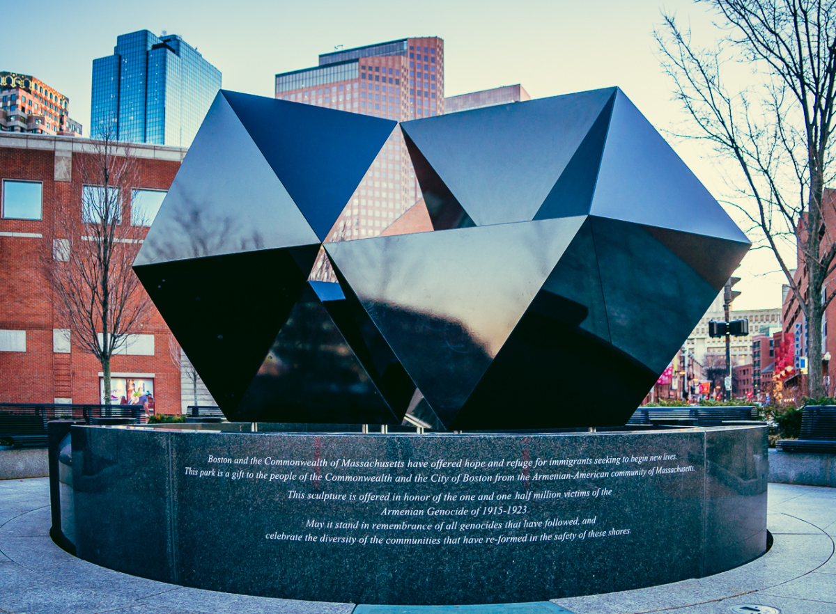 2015 Abstract Sculpture at Armenian Heritage Park on the Greenway
