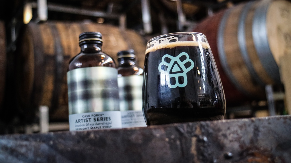 Bissell Brothers Maple Angels with Cask Force maple syrup