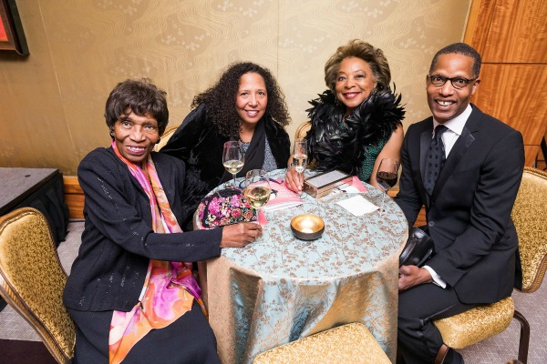 Frances Bernat, Deborah Bernat, Priscilla Douglas, and Bryan Simmons / Photo by Nile Hawver/Nile Scott Shots