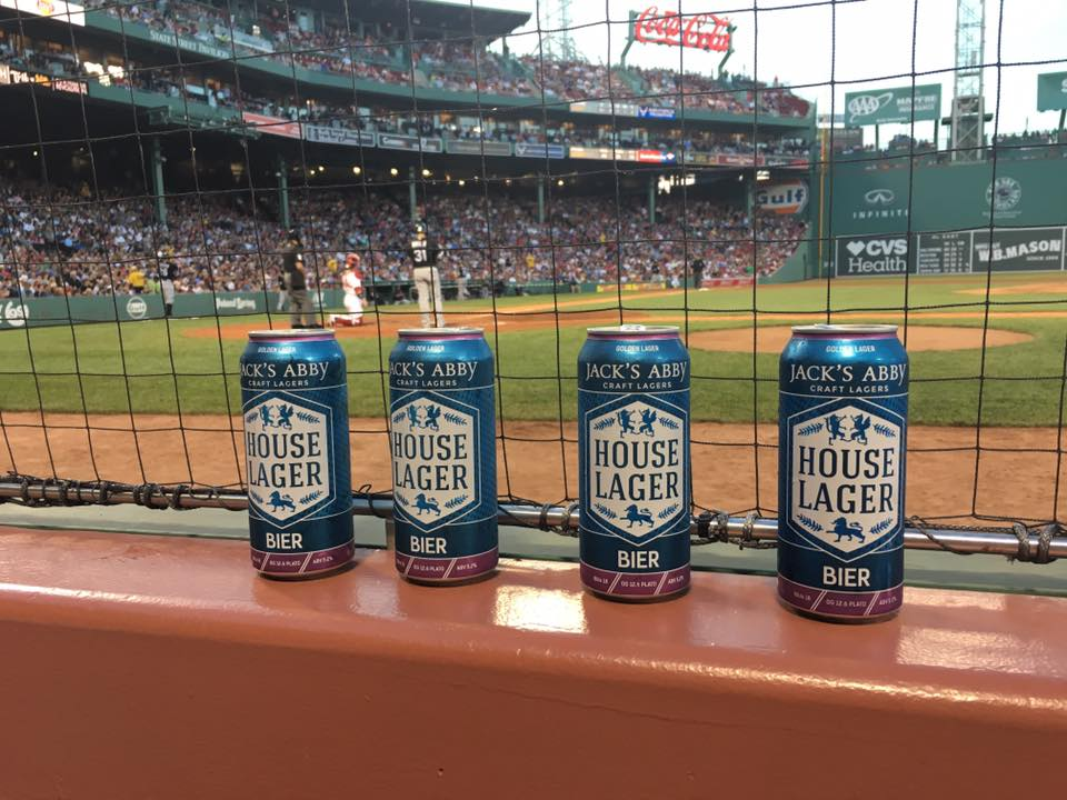 Jack's Abby House Lager at FenwayPark