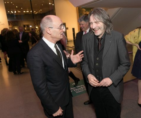 Matthew Teitelbaum, Ann and Graham Gund Director, MFA, with Klaus Ottmann, Deputy Director for Curatorial and Academic Affairs, The Phillips Collection / Photo by Michael Blanchard