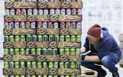 Cans from Pipeworks Brewing at Night Shift Distributing in Chelsea